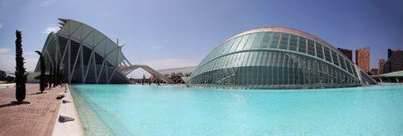 hemispheric: Hemispheric building in the sciencies and arts city in Valencia,Spain Editorial