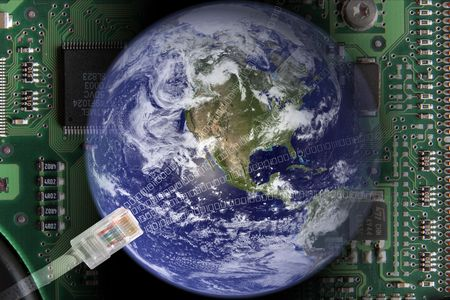 electronical: Earth in electronical world