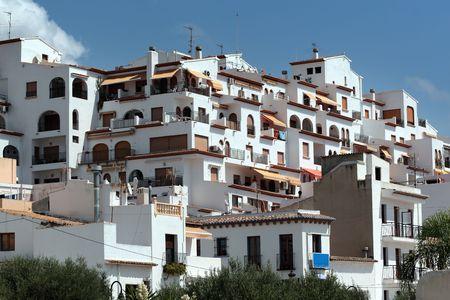 Apartments in Moraira, Alicante,Spain Stock Photo - 5690276
