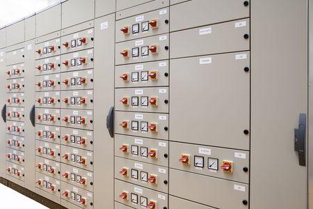 panel de control: Panelboard el�ctrico para control de motores