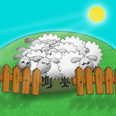 Stock Illustration Sheep