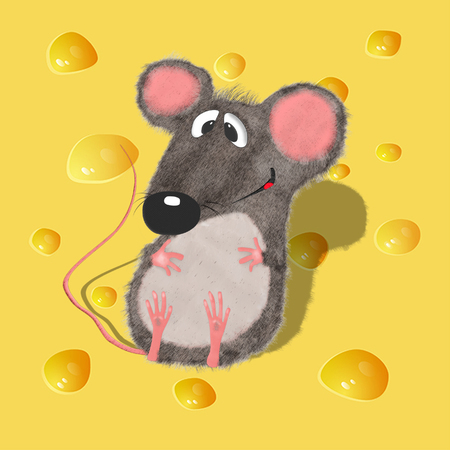 Stock Illustration Mouse