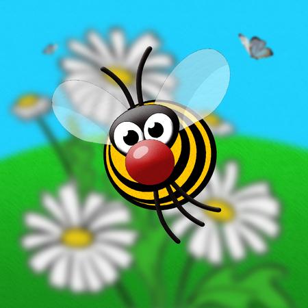Stock Illustration Bee