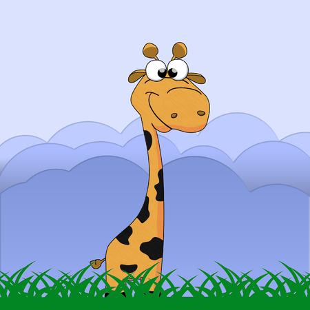 Stock Illustration Giraffe