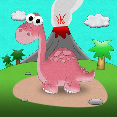 Stock Illustration Dinosaur