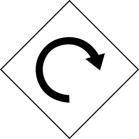 Navigation landmark icon.
