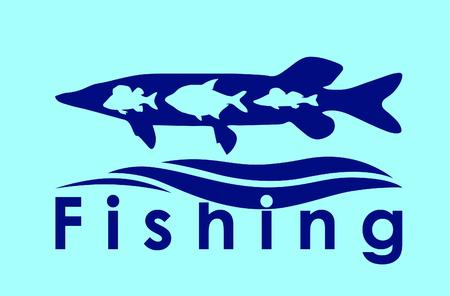 Fishing symbol