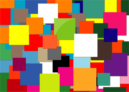 A background squares on a colorful presentation.