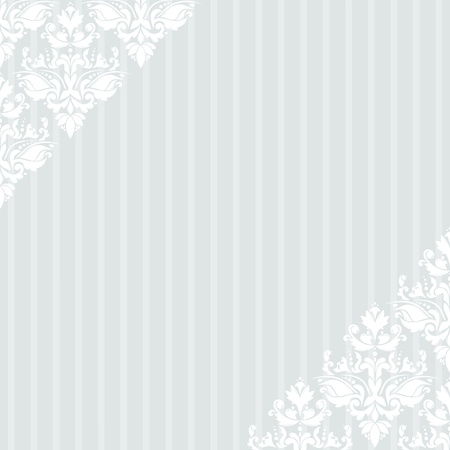 Elegant vintage light blue striped background Illustration