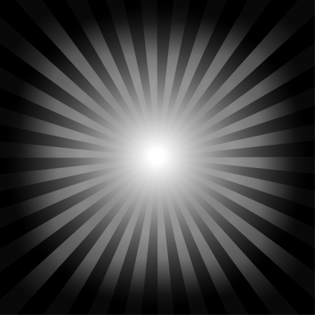Optical illusion, black striped background Vector