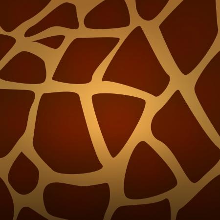 Vector Giraffe fur texture background