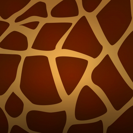 Vector Giraffe fur texture background Vector