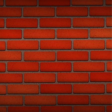 Vector Red Brick texture wallpaper