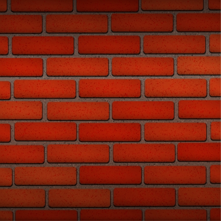 Vector Red Brick texture wallpaper