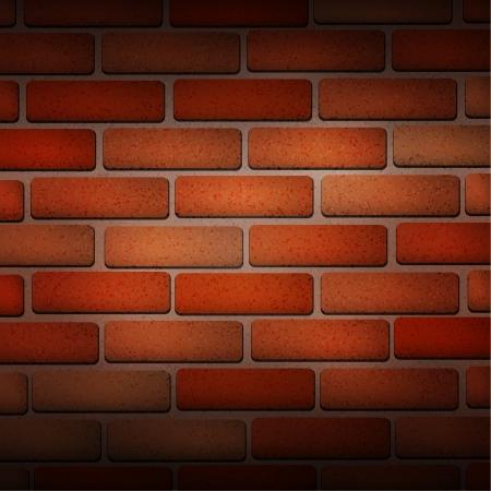 Vector Red Brick Texture Wallpaper Royalty Free Cliparts Vectors