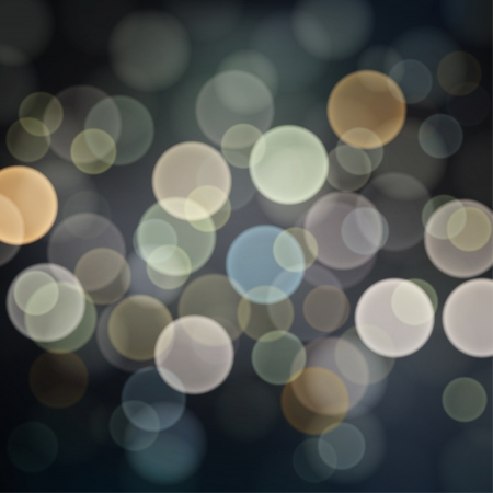 Abstract Night lights, bokeh background