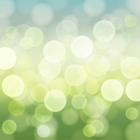 Light Geen Spring bokeh background Stock Vector - 17191998