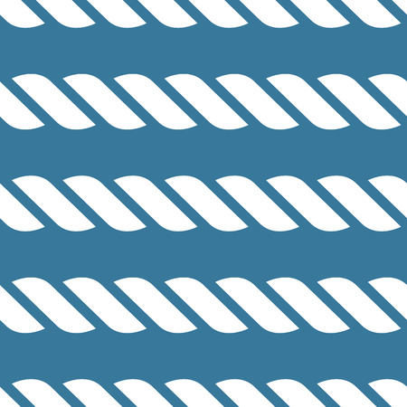 nautical rope: Seamless nautical rope knot pattern Illustration