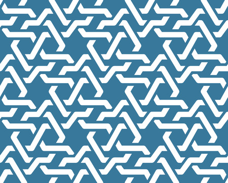 moresque: Seamless geometric tiling patterns. Inspired by old ottoman and arabian girih Illustration