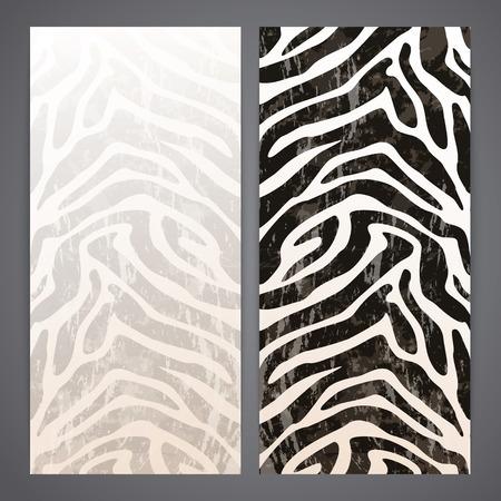 zebra: Desolladores con grunge zerba textura de fondo