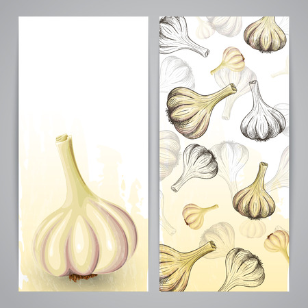 flayer: Flayer templates with hand drawn garlic