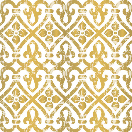 antique frames: Seamless floral tiling pattern. Inspired by old ornaments