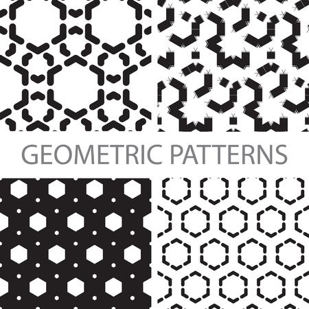 interlace: Seamless graphic geometric patterns