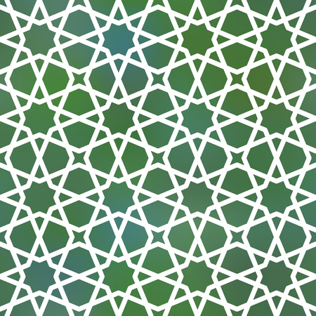 inspired: Seamless geometric girih pattern. Inspired by old ornaments