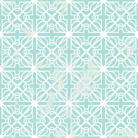 interlacing: Seamless interlacing pattern with grunge texture. Inspired by old ornaments Illustration