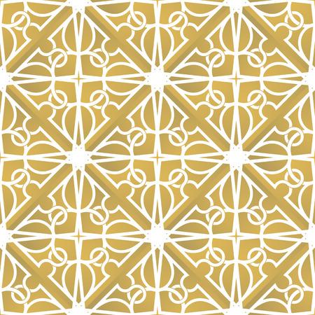 interlacing: Seamless interlacing pattern. Inspired by old ornaments Illustration