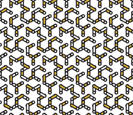 memphis: Hipster seamless pattern, Memphis style. Vintage look vector