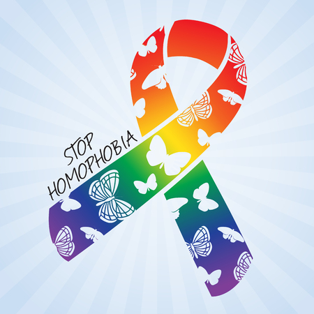 Stop homophobia, IDAHO - The International Day Against Homophobia and Transphobia banner