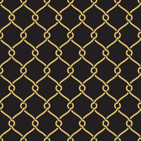 inspired: Seamless geometric interlacing pattern. Inspired by old ornaments Illustration