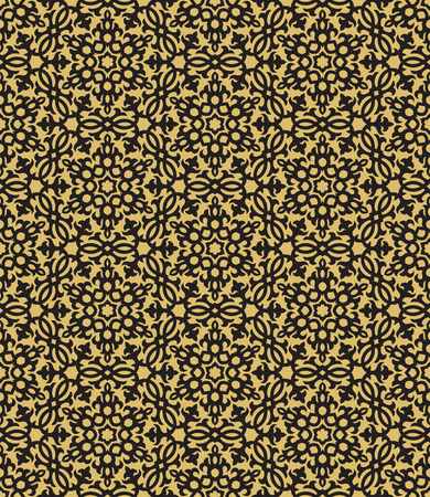 Seamless arabic pattern - ottoman traditional ornament Ilustracja