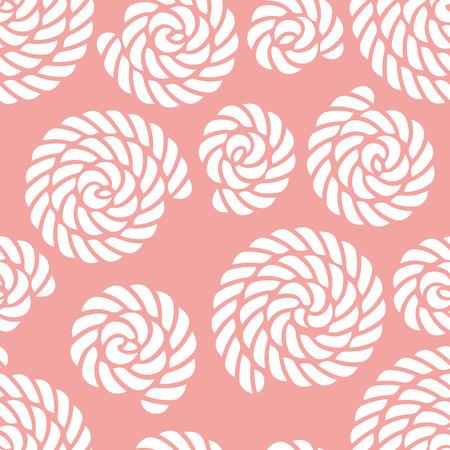Seamless nautical rope knot pattern Illusztráció