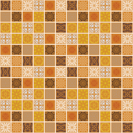 Seamless arabic pattern - based on ottoman traditional ornament