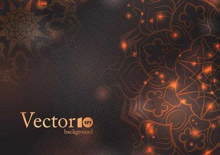 403 Hindu Wedding Invitation Background Stock Vector