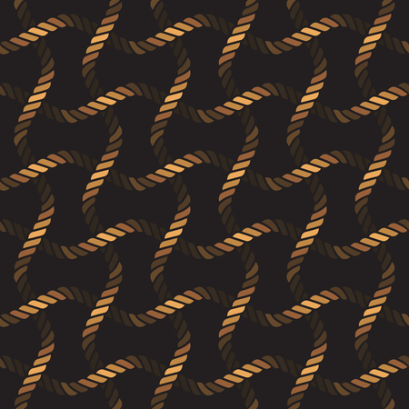 Seamless rope lattice pattern, fishing net