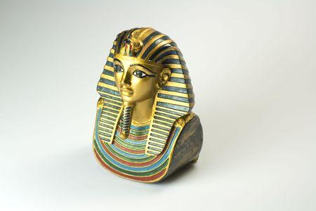 Colorful sphinks Egypte sur fond blanc Banque d'images
