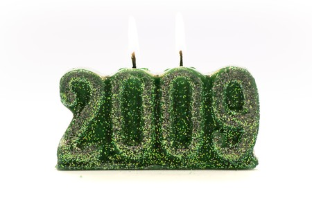 Candle of the new year
