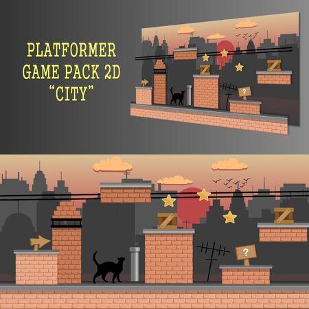 Platformer game pack 2D