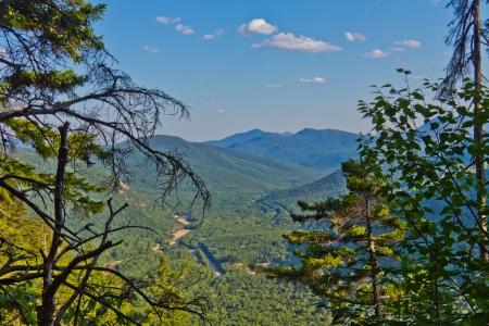 Peaceful Mountain Scene photo