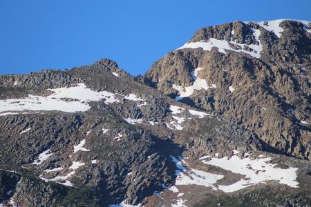 mountain Top In The Rockies Stock fotó