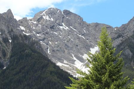 Alpine Peak In The Rockies