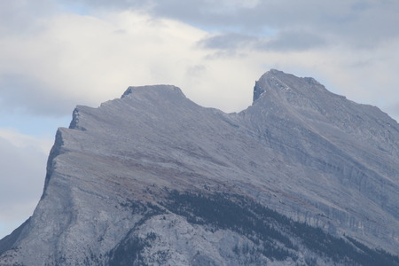 Mountain Top In Banff National Park
