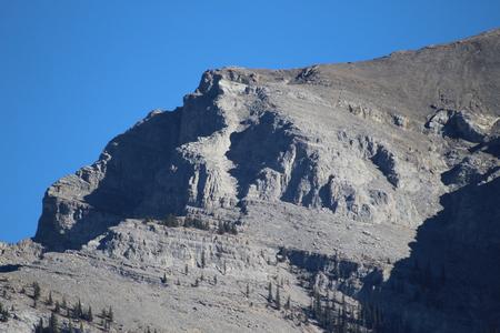 Above Tree Line In Banff, Alberta, Canada