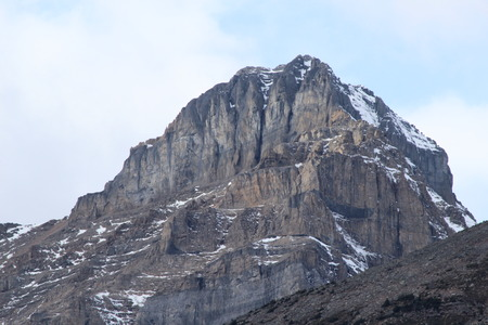 Mountain Summit  in Banff National Park, Canada