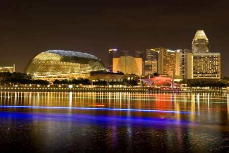 singapore culture: Esplanade theatres on the bay