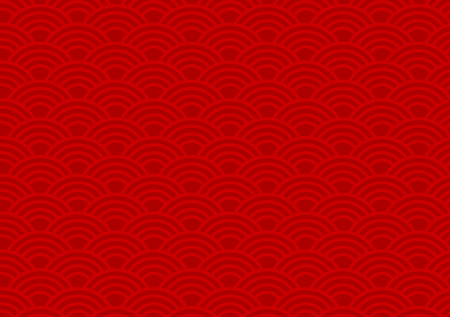 new year border: Red Chinese background pattern for new years celebrations