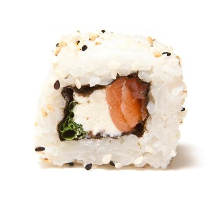 californian: Californian salmon sushi roll